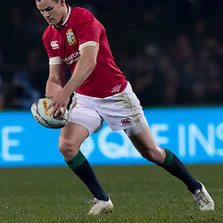 Johnny Sexton during game 5 of the British and Irish Lions 2017 Tour of New Zealand,The match between  The Maori All Blacks and British and Irish Lions, Rotorua International Stadium, Rotorua, Saturday 17th June 2017<br /> (Photo by Kevin Booth Steve Haag Sports)<br /> <br /> Images for social media must have consent from Steve Haag