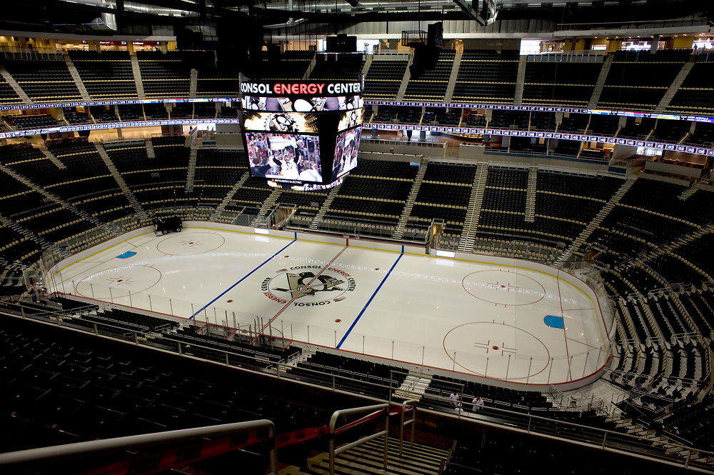 The new Consol Energy Center can seat over 18,000 people. The arena will be the new home for the Pittsburgh Penguins. It is scheduled to open August 18, 2010.