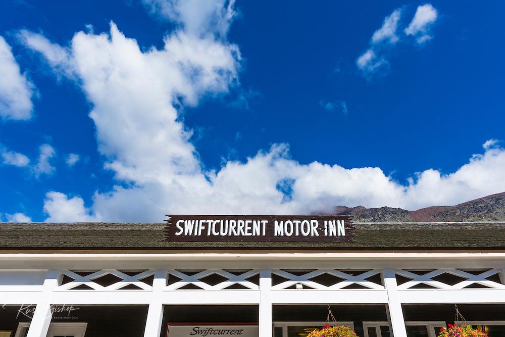 Swiftcurrent Motor Inn, Many Glacier, Glacier National Park, Montana USA