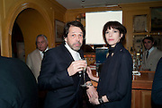 Peter Savile and Anna Blessman, BRIONI FRAGRANCE LAUNCH. Annabels. Berkeley Sq. London. 14 October 2009.
