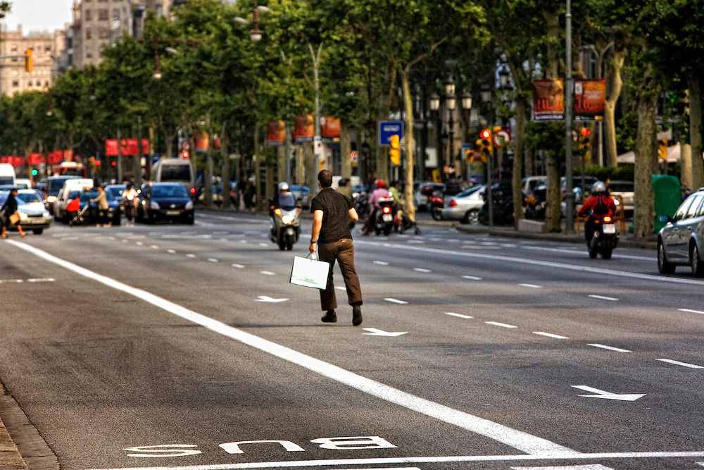 Barcelona,Catalunya, Spain. <br />