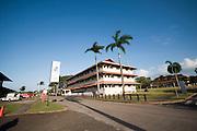 Edificio de la ciudad del saber, ubicado en Clayton, una ex-base militar de los Estados Unidos de Noteamerica. Panama, 17 de marzo de 2012. (Victoria Murillo/Istmophoto)