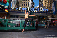 Julian Watson Dance As Art The New York Photography Project- Times Square New York City