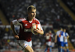 Bristol City's Joe Bryan  - Photo mandatory by-line: Joe Meredith/JMP - Tel: Mobile: 07966 386802 04/09/2013 - SPORT - FOOTBALL -  Ashton Gate - Bristol - Bristol City V Bristol Rovers - Johnstone Paint Trophy - First Round - Bristol Derby