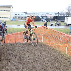 01-02-2020: Wielrennen: WK Veldrijden: Dubendorf <br /> Bailey Groenendaal