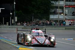 June 17, 2018 - Le Mans, Sarthe, France - Rebellion Racing Rebellion R13 Gibson Driver GUSTAVO MENEZES (USA) in action during the 86th edition of the 24 hours of Le Mans 2nd round of the FIA World Endurance Championship at the Sarthe circuit at Le Mans - France (Credit Image: © Pierre Stevenin via ZUMA Wire)
