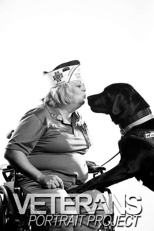 Joy L. Smith<br /> Army<br /> E-6<br /> Mental Health Specialist<br /> Dec. 26, 1986 - Feb. 26, 1991<br /> Feb. 27, 1991 - Jan. 6, 2006<br /> Bosnia<br /> <br /> Veterans Portrait Project<br /> St. Louis, MO
