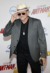 Michael Rooker at the Los Angeles premiere of 'Ant-Man And The Wasp' held at the El Capitan Theatre in Hollywood, USA on June 25, 2018.