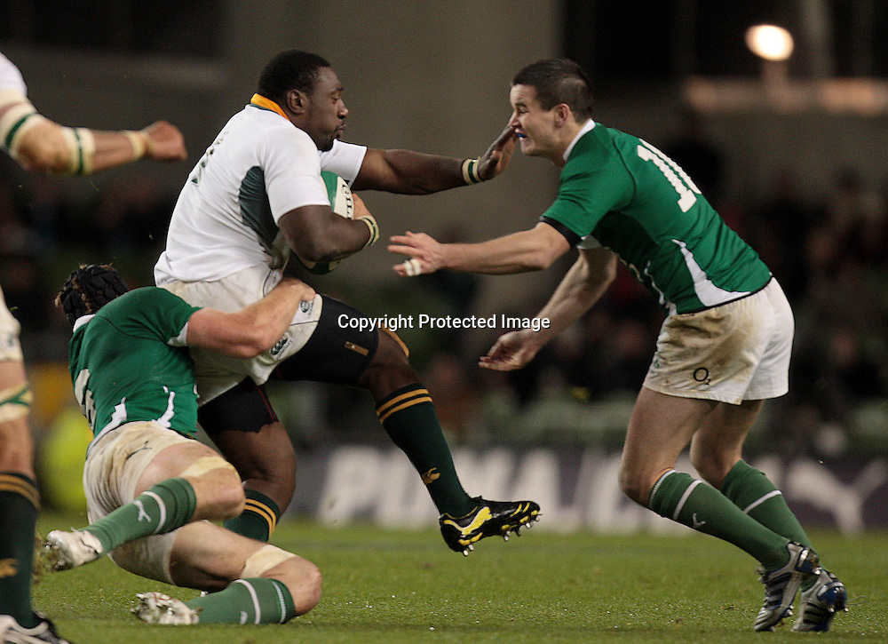 Guinness Autumn Series International, Aviva Stadium, Dublin 6/11/2010<br />