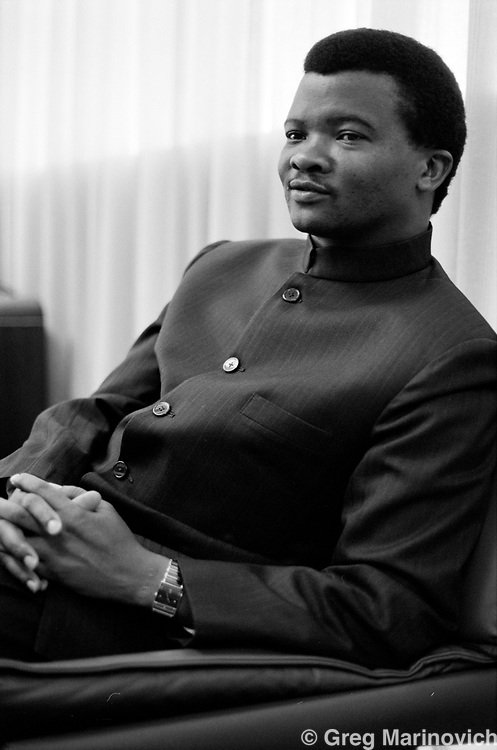 Bantu Holomisa, the general of the apartheid homeland  Transkei Defence Force who overthrew the dicatorial preisent and allowed the ANC to operate in his territory. He went on to join the ANC, became an MP and then founded his own party the UDF with Roelf Meyer, who later left.