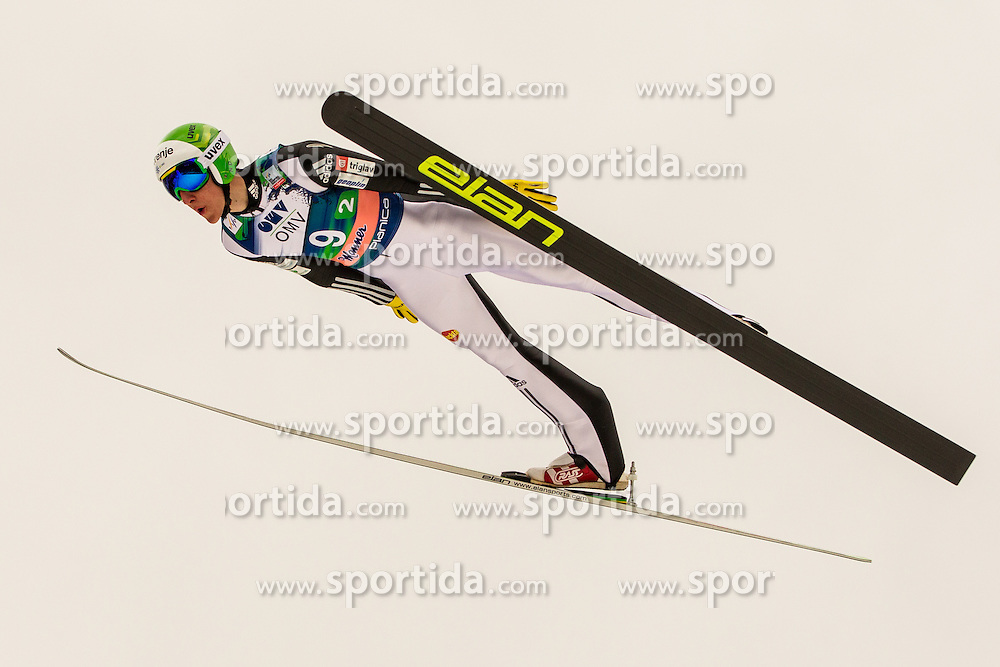 Dezman Nejc of Slovenia during Large Hill Team Event at 3rd day of FIS Ski Jumping World Cup Finals Planica 2014, on March 22, 2014 in Planica, Slovenia. Photo by Grega Valancic / Sportida