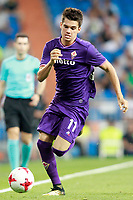 ACF Fiorentina's Ianis Hagi during Santiago Bernabeu Trophy. August 23,2017. (ALTERPHOTOS/Acero)