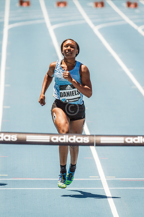 adidas Grand Prix Diamond League Track & Field: Girls adidas Dream 100m, Teahna Daniels