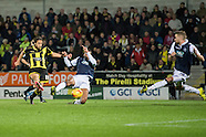 Burton Albion v Millwall - League 1 - 01/12/2015