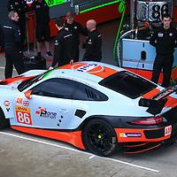 #86, Porsche 911 RSR, Gulf Racing, driven by Michael Wainwright, Adam Carroll, Ben Barker, FIA WEC 6hrs of Silverstone 2016, 14/04/2016,