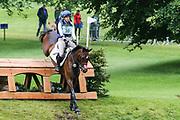 Classic VI ridden by Kirsty Johnston in the Equi-Trek CCI-L4* Cross Country during the Bramham International Horse Trials 2019 at Bramham Park, Bramham, United Kingdom on 8 June 2019.