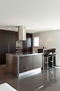 Architecture, nice apartment furnished, modern kitchen