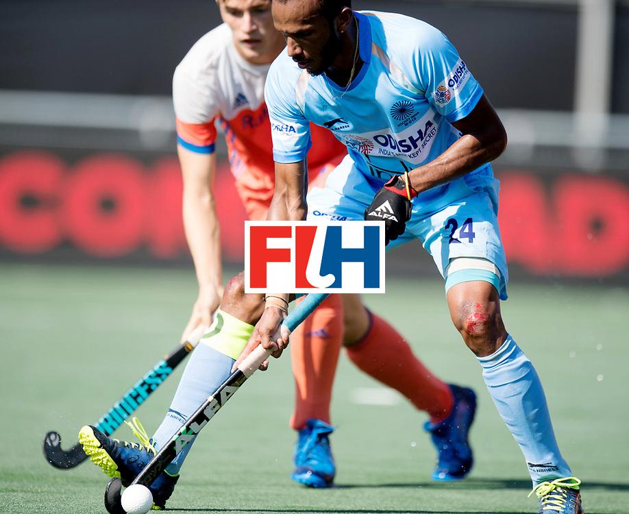BREDA - Rabobank Hockey Champions Trophy<br /> The Netherlands - India<br /> Photo: Sunil Sowmarpet.<br /> COPYRIGHT WORLDSPORTPICS FRANK UIJLENBROEK