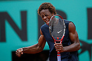 Roland Garros. Paris, France. June 4th 2008..Gael MONFILS against David FERRER..1/4 Finals...