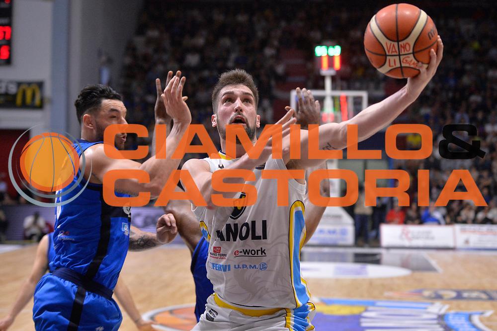 Fabio Mian<br /> Vanoli Cremona - Germani Basket Brescia Leonessa<br /> Lega Basket Serie A 2016/2017<br /> Cremona, 09/04/2017<br /> Foto M.Ceretti / Ciamillo - Castoria