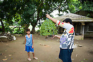 The flagellation in the Philippines starts to be widely popular around Easter and it's the sacrafice making in certain intention particularly known in the island of Luzon. Philippines, Quezon Province.