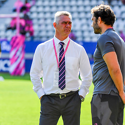 Head coach Heyneke Meyer of Paris during Top 14 match between Stade Francais and Union Bordeaux Begles on September 1, 2018 in Paris, France. (Photo by Aude Alcover/Icon Sport)