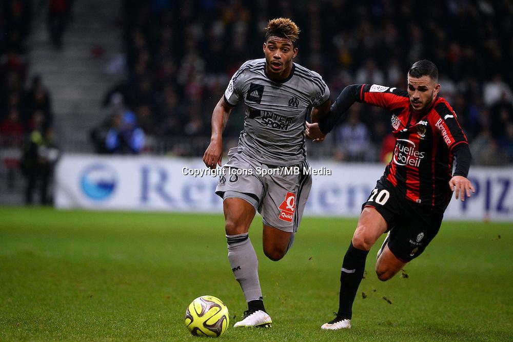 Mario LEMINA  - 23.01.2015 - Nice / Marseille - 22eme journee de Ligue 1<br />Photo : Gaston Petrelli / Icon Sport