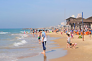 Israel, Tel Aviv, The beach