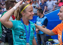 07-07-2019 FRA: Final USA - Netherlands, Lyon<br /> FIFA Women's World Cup France final match between United States of America and Netherlands at Parc Olympique Lyonnais. USA won 2-0 / Loes Geurts #23 of the Netherlands