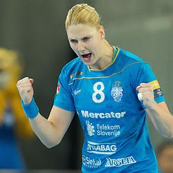 20141109: SLO, Handball - EHF Women's Champions League, RK Krim Mercator vs  Dinamo-Sinara
