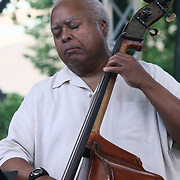 The Brownie Roach Project Bassist Ray Drummond performs in front of a large crowd at the 26th annual duPont Clifford Brown Jazz Festival Wednesday, June 18, 2014, at Rodney Square Park in Wilmington, DEL.    <br /> <br /> &ldquo;The Clifford Brown Jazz Festival is a staple of Wilmington&rsquo;s performing arts culture,&rdquo; said Mayor Dennis P. Williams. &ldquo;The City is excited to celebrate the 26th anniversary and I hope the community gets involved and enjoys all of the many activities the festival has to offer.&rdquo;
