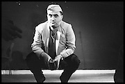 ALEXEI SAYLE, Performance of The Comic Strip,  Boulevard Theatre, next to the Raymond Revue, Walkers court , Soho. London. 1981