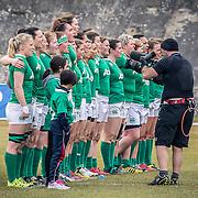L'Aquila 12/02/2017 Stadio Fattori<br /> RBS 6 nations women 2017<br /> Italia vs Irlanda