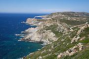 The cliffs of Punta Bianca.