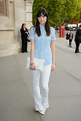 Lilla Parsons attends 'Wedding Dresses 1775 - 2014' - VIP private view. Victoria & Albert Museum, London, United Kingdom. Wednesday, 30th April 2014. Picture by Chris Joseph / i-Images