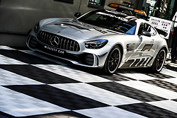 March 23, 2018 - Melbourne, Victoria, Australia - The new safety car Mercedes AMG GT-R during 2018 Formula 1 championship at Melbourne, Australian Grand Prix, from March 22 To 25 - Photo  Motorsports: FIA Formula One World Championship 2018, Melbourne, Victoria : Motorsports: Formula 1 2018 Rolex  Australian Grand Prix, (Credit Image: © Hoch Zwei via ZUMA Wire)