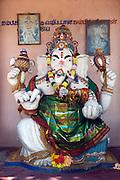 Ganesh shrine on the East Coast.