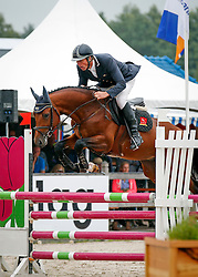 Maarse Dave (NED) - Evidence<br /> 4 jarige Springpaarden<br /> KWPN Paardendagen Ermelo 2013<br /> © Dirk Caremans