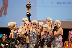04.12.2010, Stadthalle, Graz, AUT, Rock 'n' Roll Europameisterschaft Girls Formation 2010, im Bild die neue Europameister Formation Mystique (CZE) , EXPA Pictures © 2010, PhotoCredit: EXPA/ Erwin Scheriau
