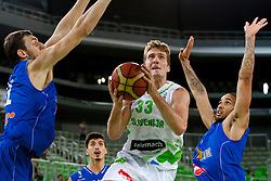 Zoran Dragic of Slovenia during friendly basketball match between National teams of Slovenia and Bosnia i Hercegovina of Adecco Ex-Yu Cup 2012 as part of exhibition games 2012, on August 3rd, 2012, in Arena Stozice, Ljubljana, Slovenia. (Photo by Urban Urbanc / Sportida)