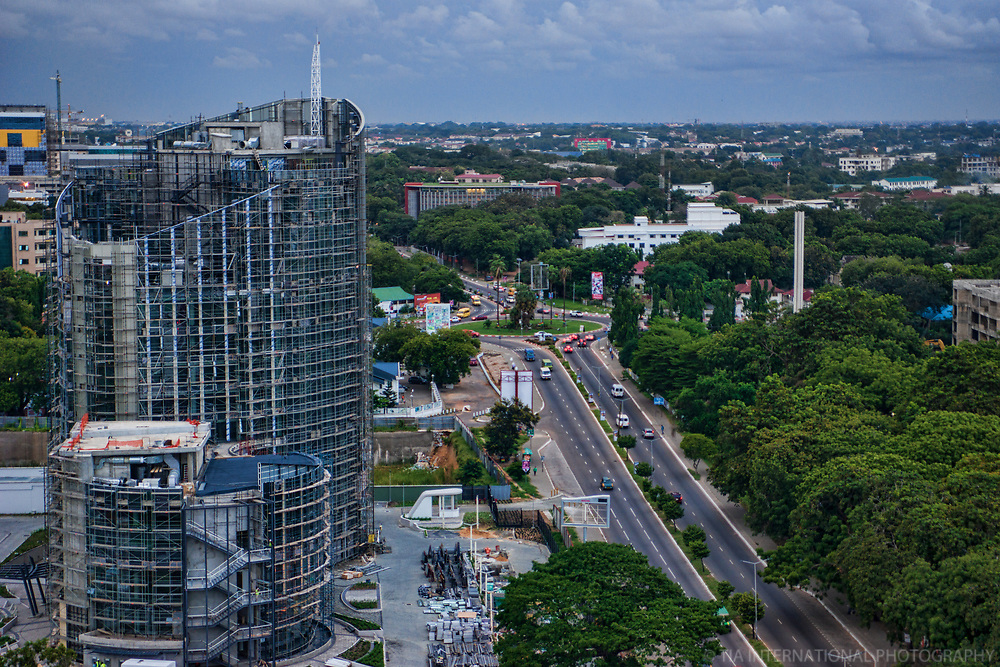 (New) Ecobank Ghana Headquarters & Independence Avenue