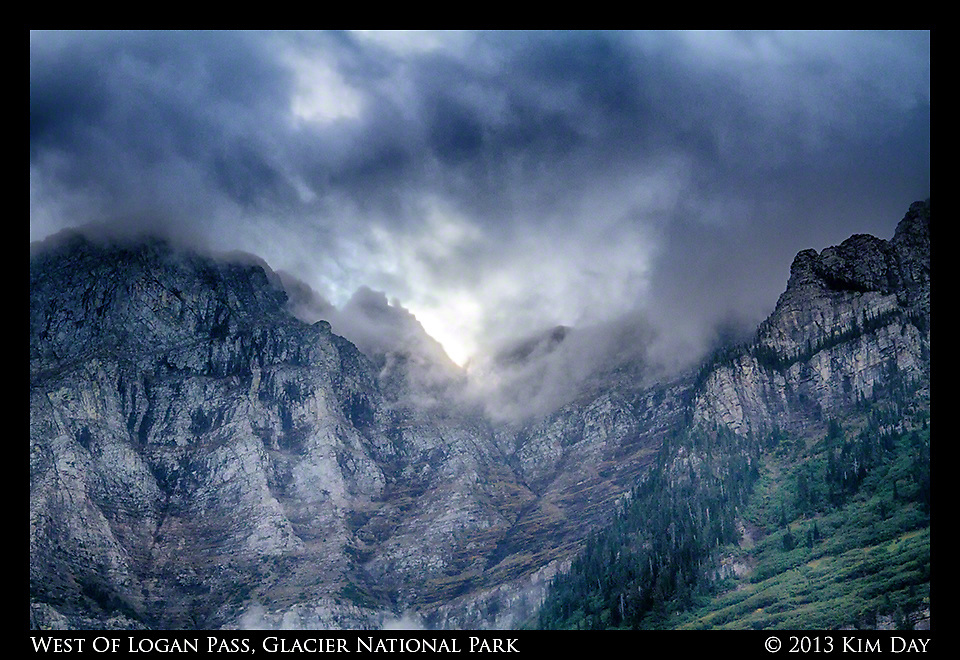 West of Logan Pass<br /> Glacier National Park - Go The Sun Road<br /> September 2013