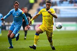 Jonson Clarke-Harris of Bristol Rovers goes past Tom Davies of Coventry City - Mandatory by-line: Robbie Stephenson/JMP - 07/04/2019 - FOOTBALL - Ricoh Arena - Coventry, England - Coventry City v Bristol Rovers - Sky Bet League One