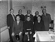 11/04/1958<br /> 04/11/1958<br /> 11 April 1958<br /> <br /> First meeting of advancement of Irish in Secondary Schools. <br /> (Held in Room 104, The Gresham)