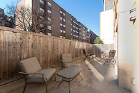 Patio at 29 West 138th Street