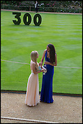 KATHERINE RICHARDSON;  JOELLE CHESS; ;, The Tercentenary Ball, Worcester College. Oxford. 27 June 2014