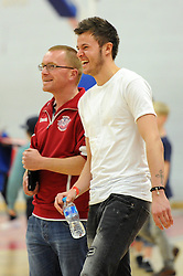 Dave Richards - Photo mandatory by-line: Dougie Allward/JMP - Mobile: 07966 386802 - 27/02/2015 - SPORT - basketball - Bristol - SGS Wise Campus - Bristol Flyers v Leeds Force - British Basketball League