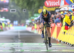 01.07.2017, Duesseldorf, GER, Tour de France, Prolog, im Bild HOWSON Damien (AUS, Team Orica-Scott) // Damien Howson of Australia during te Prolog of the 2017 Tour de France in Duesseldorf, Germany on 2017/07/01. EXPA Pictures © 2017, PhotoCredit: EXPA/ Martin Huber