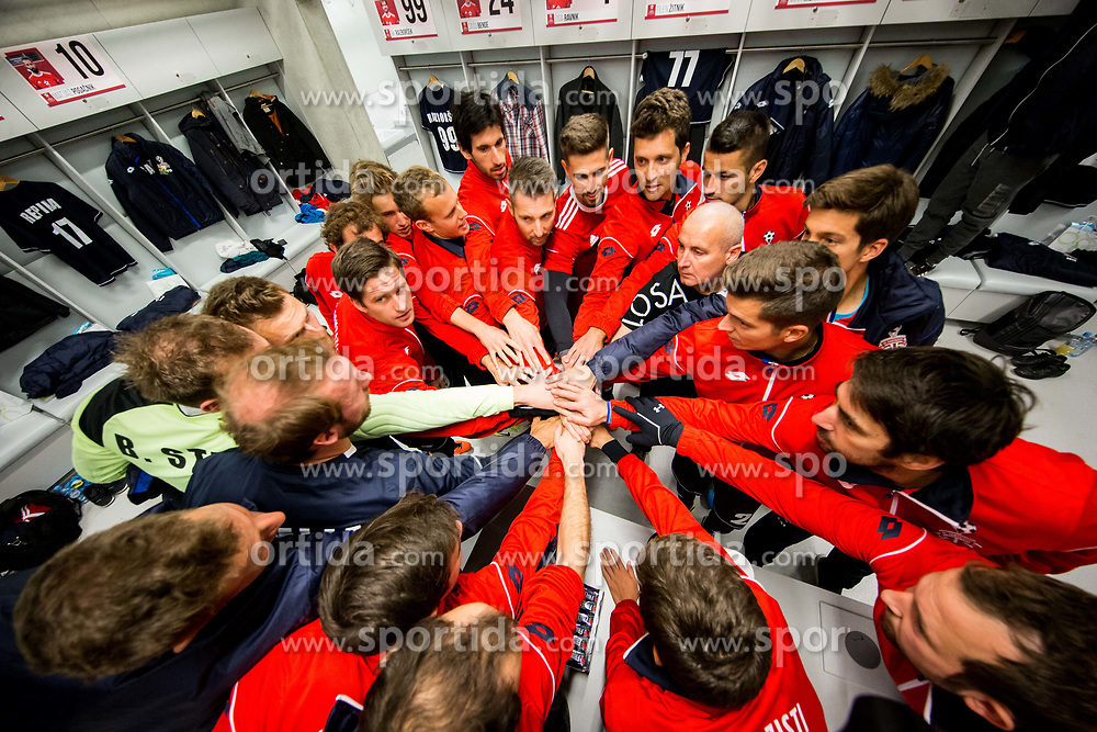 Team Fantazisti prior to the friendly football match between NK Fantazisti (SLO) and 1st TFC - First Tennis & Football Club (AUT) presented by professional and former tennis players, on November 25, 2017 in Nacionalni nogometni center Brdo pri Kranju, Slovenia. Photo by Vid Ponikvar / Sportida
