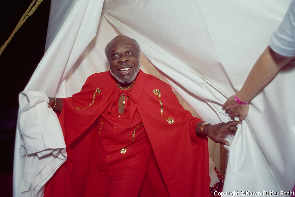 Rufus Thomas, entertainer from Memphis, Tennessee.© Karen Pulfer Focht-ALL RIGHTS RESERVED-NOT FOR USE WITHOUT WRITTEN PERMISSION